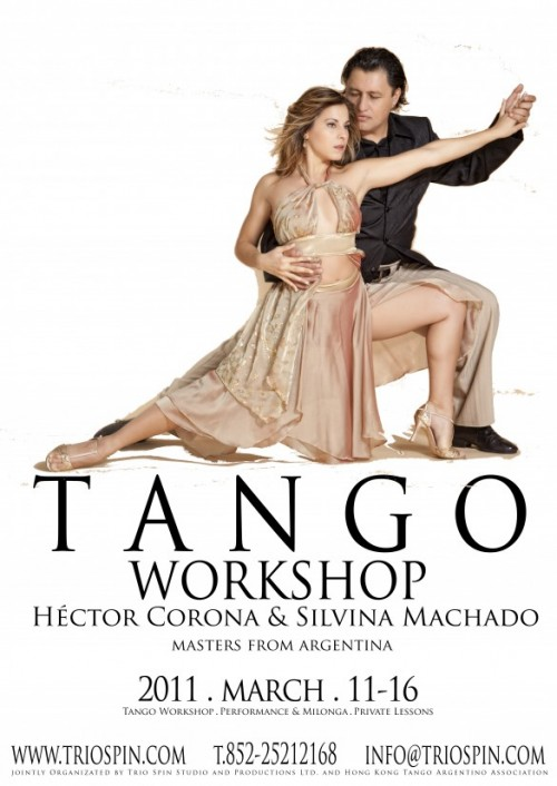 Hector Corona and Silvina Machado Argentine Tango Workshop Hong Kong March 2011